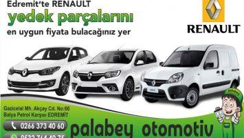 Edremit Renault Oto Yedek Parça Çeşitleri