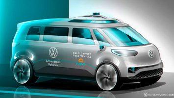Volkswagen ID.BUZZ, firmanın ilk otonom aracı olacak!